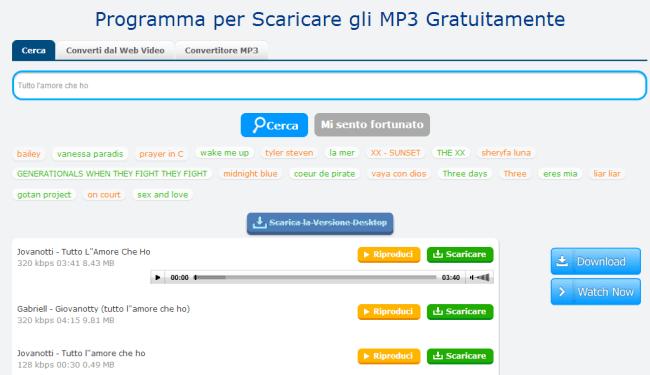 scaricare musica italiana su pc gratis windows