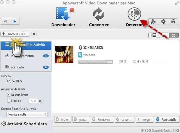 downloader professionale per utenti Mac