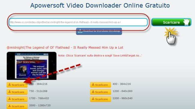 Apowersoft Video Downloader Online Gratuito