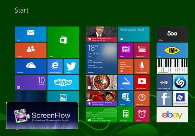 ScreenFlow per Windows